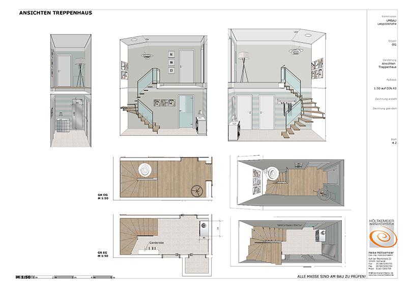 Umbau einfamilienhaus in leopoldsh he h ltkemeier for Voraussetzung innenarchitekt